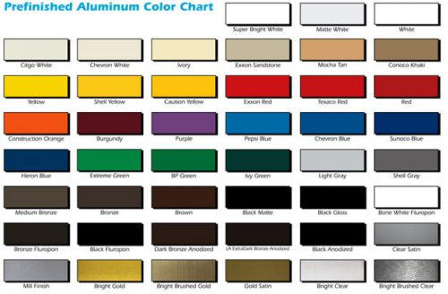 Color coateded Aluminum Sheet