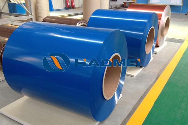 colour coated aluminium coil