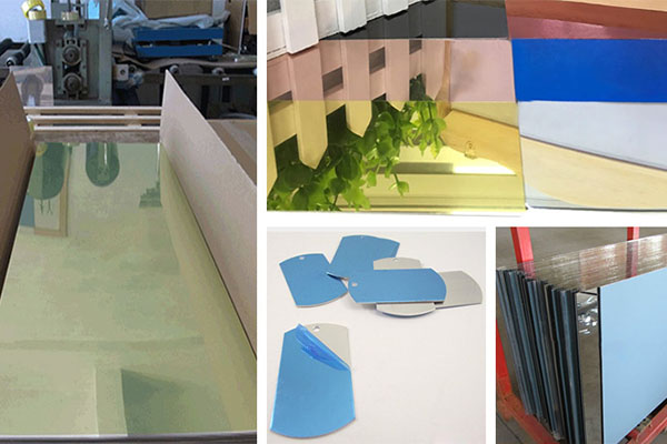 color coated mirror finish aluminum sheet 1060 1100