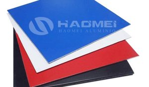 aluminium color coated sheet