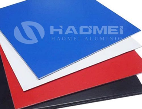 Aluminium color coated sheet of various colors